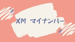 【解決】XMでマイナンバーの提出は不要!「いいえ」と答えても大丈夫です