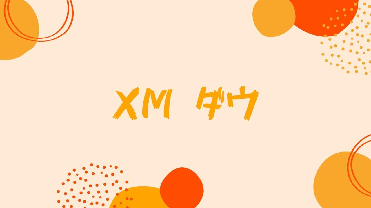 【100倍】XMでダウ平均をトレード!高レバレッジ対応の取引ルールを解説。