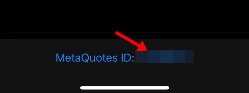 MetaQuotes ID を確認する